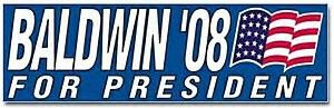 Chuck Baldwin presidential campaign, 2008 - Image: Baldwin logo
