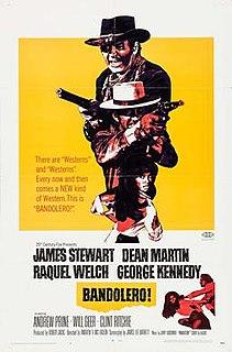<i>Bandolero!</i> 1968 film by Andrew V. McLaglen