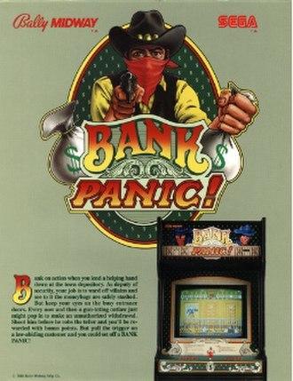Bank Panic - Arcade flyer