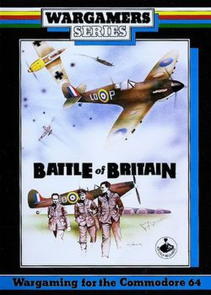 Battle of Britain (video game) - Commodore 64 cover art