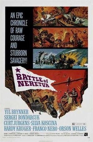 Battle of Neretva (film) - US film poster