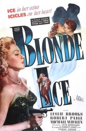 Blonde Ice - Theatrical release poster