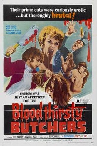 Bloodthirsty Butchers (film) - Image: Bloodthirsty butchers