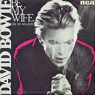 Be My Wife - Image: Bowiemywife