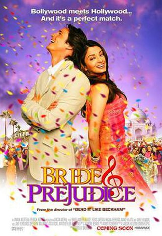 Bride and Prejudice - Theatrical release poster