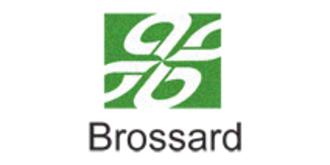 Brossard - Image: Brossard quebec flag