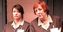 Caroline Quentin (left) in ITV's Hot Money (2001).jpg
