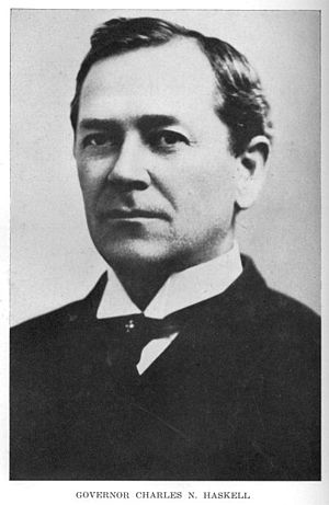 Frank Frantz - Frantz would lose to Charles N. Haskell in an election to become the first Governor of Oklahoma.
