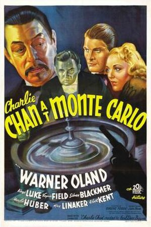 Charlie Chan at Monte Carlo - Image: Charlie Chan at Monte Carlo Film Poster