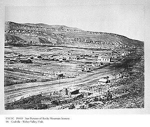Coalville, Utah - Coalville circa 1879