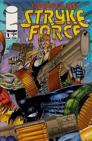 Codename: Strykeforce - Image: Codename Strykeforce 01 cover