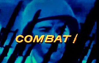 Combat! (TV series) - 1966-67 season color title card (showing Rick Jason)