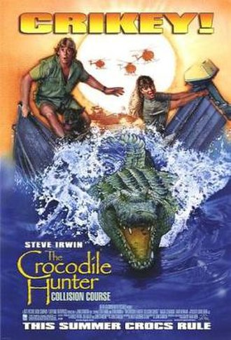 The Crocodile Hunter: Collision Course - US Theatrical release poster by Drew Struzan