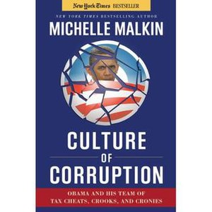 Culture of Corruption - Image: Culture of Corruption Obama and His Team of Tax Cheats, Crooks, and Cronies cover