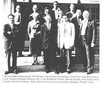 Cupertino, California - Cupertino Improvement Association c. 1954