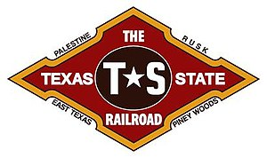 Texas State Railroad - The Texas State Railroad's Official Logo