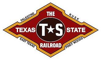 Texas State Railroad - The Texas State Railroad's Official Logo