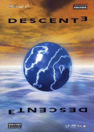 Descent 3 - Cover art