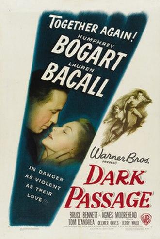 Dark Passage (film) - theatrical release poster