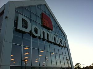 Dominion Stores (Newfoundland) - Dominion Supermarket, St. John's, Newfoundland (August 2012).