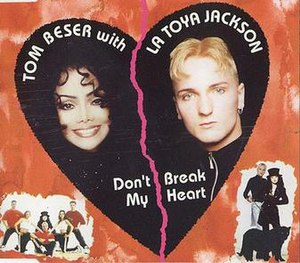 Don't Break My Heart (La Toya Jackson song) - Image: Dontbreakmyheart