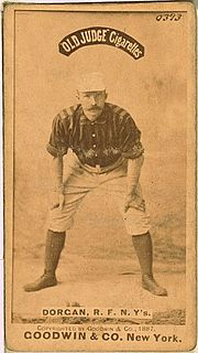 Mike Dorgan American baseball player