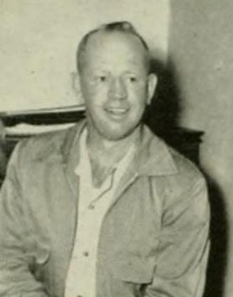 E. C. Duggins - Duggins pictured in The Rhododendron 1953, Appalachian State yearbook