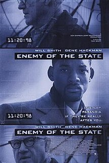 <i>Enemy of the State</i> (film) 1998 US action film by Tony Scott