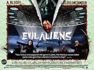Evil Aliens - Poster for Evil Aliens