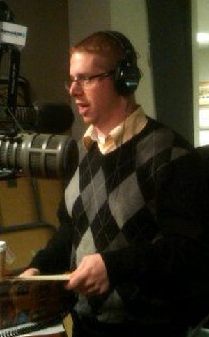 Rob Keighron - Keighron co-hosting The Catholic Guy in 2012
