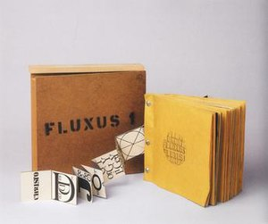 Fluxus 1 - Fluxus 1, 1964. This copy in the Archiv Sohm, Staatsgalerie Stuttgart.