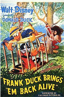<i>Frank Duck Brings Em Back Alive</i> 1946 film by Jack Hannah