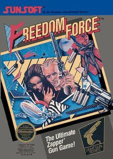 <i>Freedom Force</i> (video game) 1988 video game
