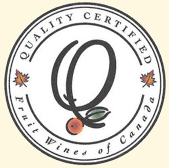 Ontario wine - The QC logo