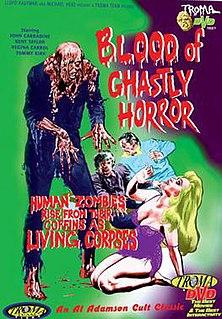 <i>Blood of Ghastly Horror</i> 1972 film by Al Adamson