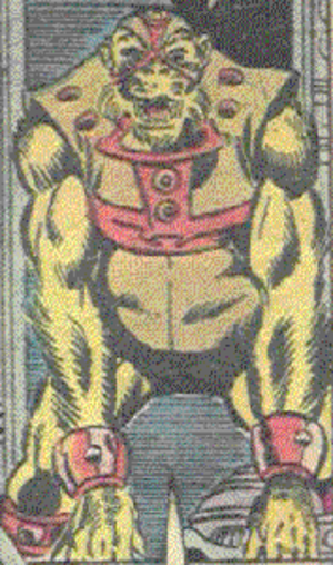 Gorr (comics) - Image: Gorr the Golden Gorilla