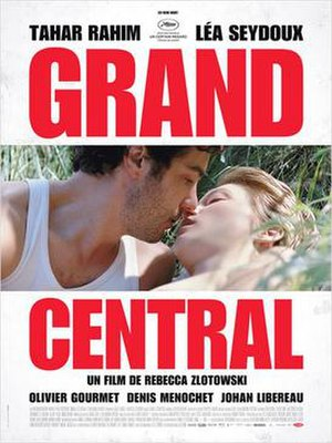 Grand Central (film) - French release poster