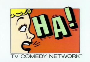 Ha! (TV channel) - Image: HA logo 1990