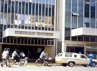 The Herald (Zimbabwe) - Herald House, Harare