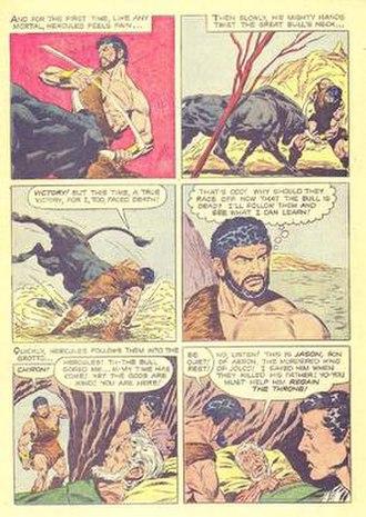 John Buscema - Image: Herculesfc 1006