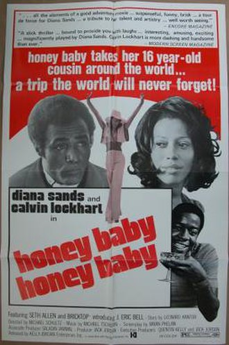 Honeybaby, Honeybaby - Theatrical release poster