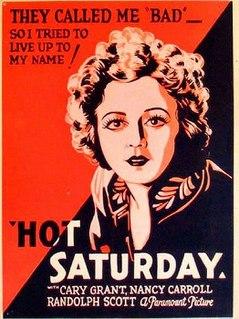 <i>Hot Saturday</i> 1932 film by William A. Seiter