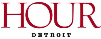 Hour Detroit - Image: Hour Detroit magazine logo