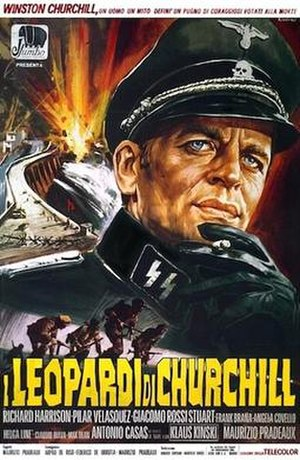 Churchill's Leopards - Italian poster