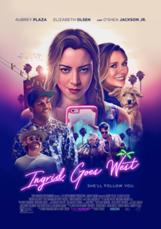 Ingrid Goes West - Theatrical release poster
