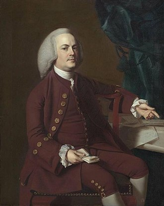 Harvard Law School - Portrait of Isaac Royall, painted in 1769 by John Singleton Copley