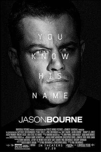 Jason Bourne (film) - Theatrical release poster
