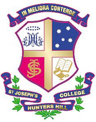 St Joseph's College, Hunters Hill - Image: Joeyshuntershill