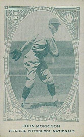 Johnny Morrison (baseball) - Image: Johnny Morrison (baseball)