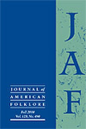 Journal of American Folklore - Image: Journal of American Folklore
